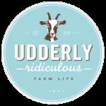 Udderly Ridiculous Farm Life Logo, Bright, Ontario